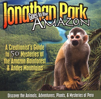 Jonathan Park Goes to the Amazon MP3 Audio CD  -     By: Pat Roy