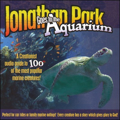 Jonathan Park Goes to the Aquarium MP3 Audio CD  -     By: Pat Roy