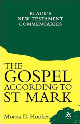 Gospel According to St. Mark   -     By: Morna D. Hooker