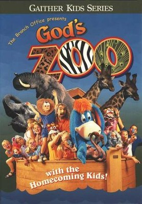 God's Zoo DVD   -     By: The Homecoming Kids