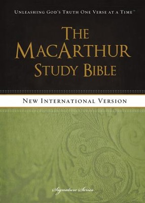 The MacArthur Study Bible, NIV - eBook  -     By: John MacArthur