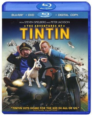 The Adventures of Tintin, Blu-ray    -