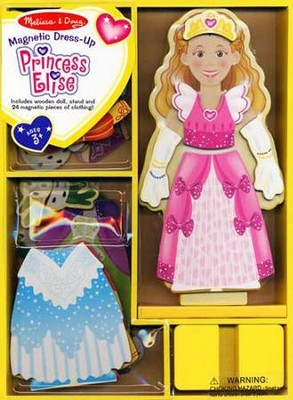 Princess Elise Magnetic Dress-Up  -     By: Melissa & Doug