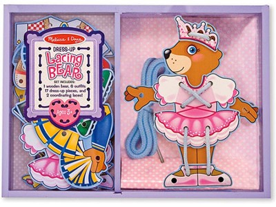 Lacing Bear Dress-Up  -     By: Melissa & Doug