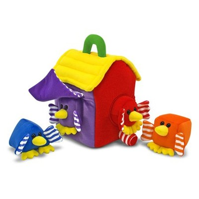 Bird House Shape Sorter  -     By: Melissa & Doug