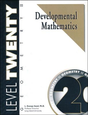 Developmental Math Level 20, Geometry II   -     By: L. George Saad