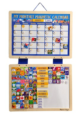 Magnetic Calendar  -     By: Melissa & Doug