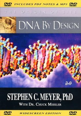 DNA by Design, DVD   -     By: Stephen C. Meyer Ph.D.
