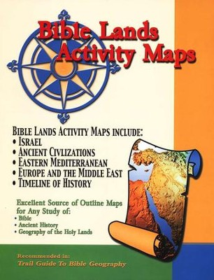 Bible Lands Activity Maps (Paper)   -