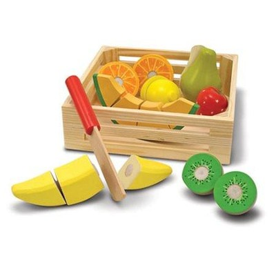 Cutting Fruit Crate  -     By: Melissa & Doug