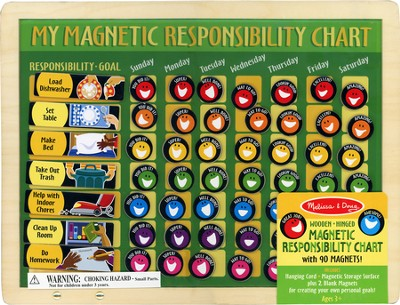 My Magnetic Responsibility Chart from Melissa & Doug   -     By: Melissa & Doug