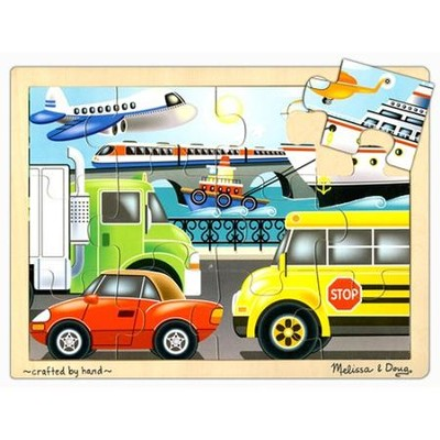 On The Go Jigsaw Puzzle (12 pc)   -     By: Melissa & Doug