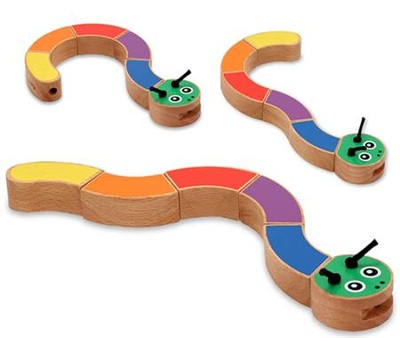 Caterpillar Grasping Toy  -     By: Melissa & Doug
