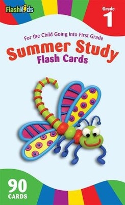 Summer Study Flash Cards: Grade 1  -     By: FlashKids