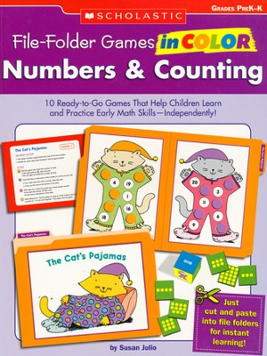 File-Folder Games in Color: Numbers & Counting  -     By: Susan Julio