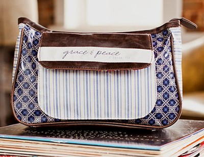 Grace & Peace Make-Up Bag   -
