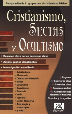 Cristianismo, Sectas y Ocultismo, Pamfleto  (Christianity, Cults, and the Occult Pamphlet)  -