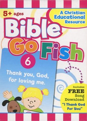 Bible Go Fish 50 Count Flashcard Game   -