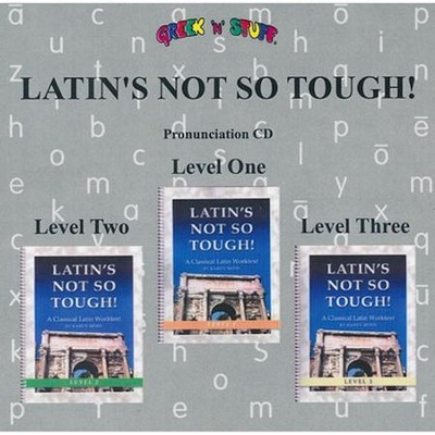 Latin's Not So Tough! Pronunciation CD for Levels 1-3   -