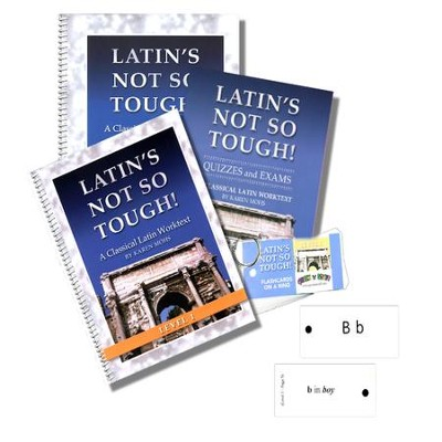 Latin's Not So Tough! Level 1 Full Workbook Set   -