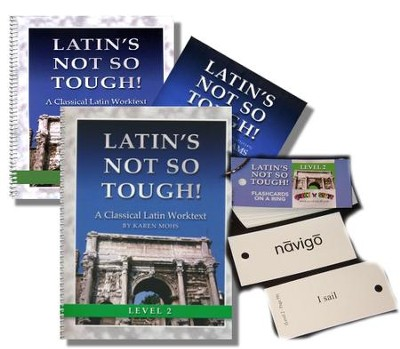 Latin's Not So Tough! Level 2 Full Workbook Set   -