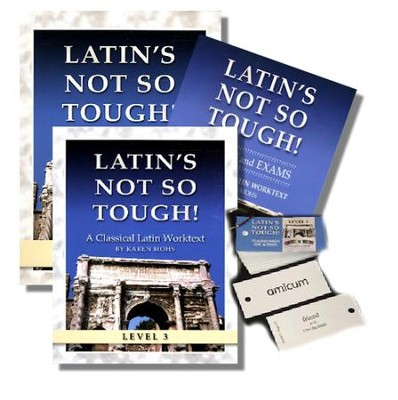 Latin's Not So Tough! Level 3 Full Workbook Set   -