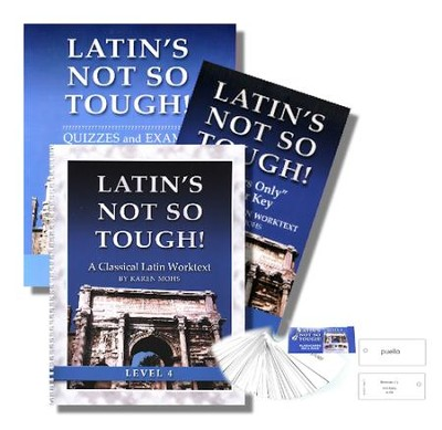 Latin's Not So Tough! Level 4 Short Workbook Set   -