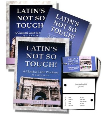 Latin's Not So Tough! Level 6 Full Workbook Set   -