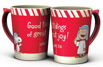 Good Tidings of Great Joy, Peanuts Mug  -