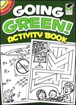 Going Green! Activity Book  -     By: Becky Radtke