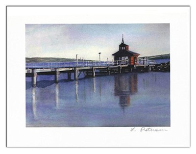 Boat House Note Card   -     By: Laura Petrisin