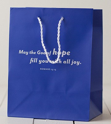 May The God of Hope Gift Bag, Medium   -