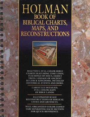 Holman Book of Biblical Charts, Maps, and Reconstructions  -     By: Marsha A. Ellis Smith