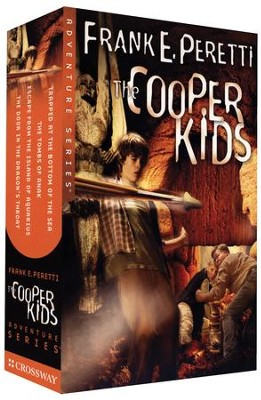 The Cooper Kids Adventure Series, Volumes 1-4 (Slipcased Set)   -     By: Frank Peretti