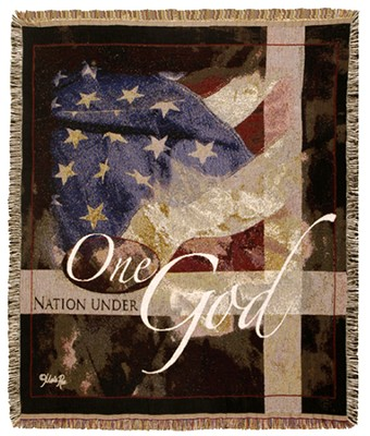 One Nation Under God Throw  -