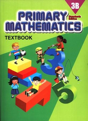 Primary Mathematics Textbook 3B (Standards Edition)   -