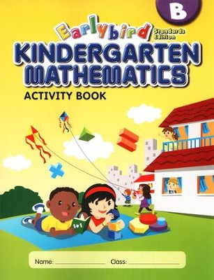 EarlyBird Kindergarten Math (Standards Edition) Activity Book B  -