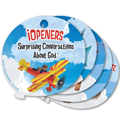 iOpeners: Surprising Conversations About God &#153, Set of 17 Cards  -