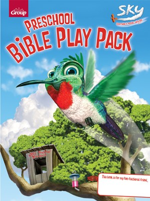 Preschool Bible Play Pack  -