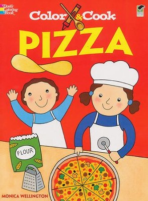 Color and Cook: Pizza  -     By: Monica Wellington
