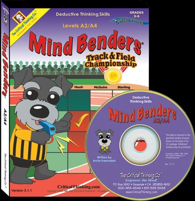 Mind Bender Level A3/A4 on CD-ROM   -     By: Anita Harnadek