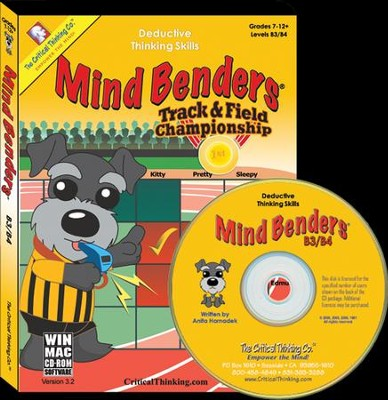 Mind Bender Level B3/B4 on CD-ROM   -     By: Anita Harnadek