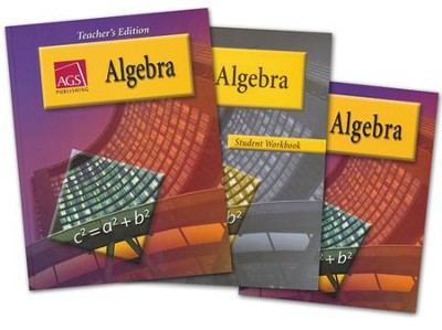 AGS Algebra 1 Homeschool Bundle   -