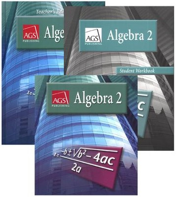 AGS Math Algebra 2 Homeschool Bundle   -