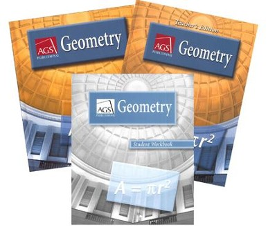 AGS Math Geometry Homeschool Bundle   -