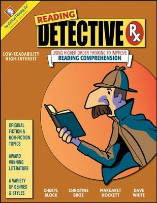 Reading Detective RX   -     Edited By: David White     By: Cheryl Block, Christine Broz, Margaret Hockett