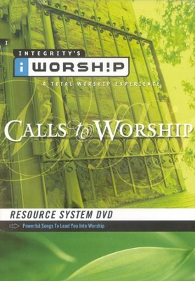iWorship Resource System DVD: Calls to Worship  -