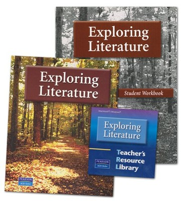 AGS Exploring Literature Grades 5-8 Homeschool Bundle   -