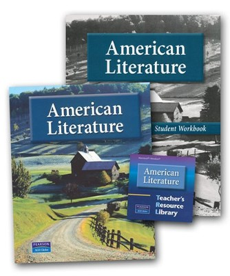 AGS American Literature Homeschool Bundle   -