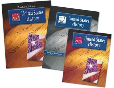 AGS United States History Homeschool Bundle   -